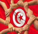 Photo emblématique de la révolution tunisienne de décembre/janvier 2011.