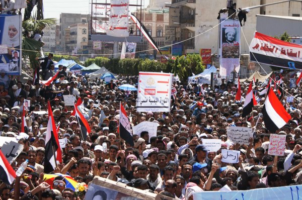 Manifestation au Yémen. Photo : Al Jazeera English