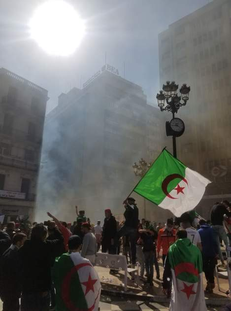 How the counter-revolutionary forces have become repressive in Algeria